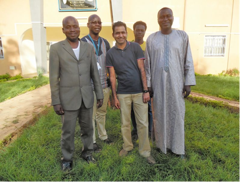 Story from the field – Niamey research stay Khalid Mehmood's story (ITT) –